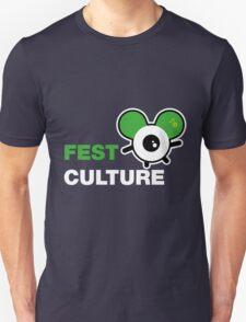 FestCulture Logo Original Green - Dark Unisex T-Shirt