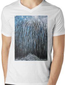 Winter woodland Mens V-Neck T-Shirt