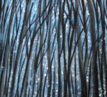 Winter woodland Sticker
