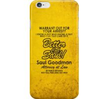 Who You Gonna Call? (Breaking Bad, Better Call Saul) iPhone Case/Skin