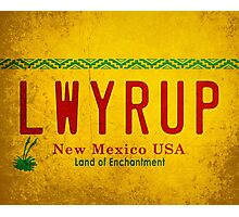 LWYRUP (Breaking Bad, Better Call Saul) Photographic Print