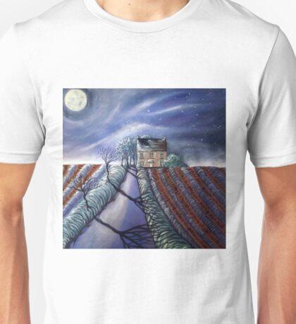 Twilight Furrows on Keld Spring Lane Unisex T-Shirt