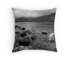 Ennerdale Water: No.1 Throw Pillow