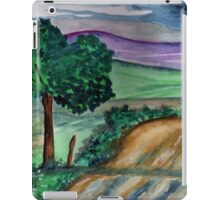 Painting a landscape iPad Case/Skin
