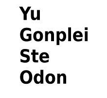 Yu Gonplei ste odon by Naniecraft