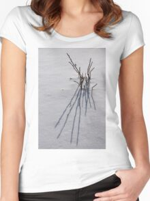 Snow Graphics Women's Fitted Scoop T-Shirt