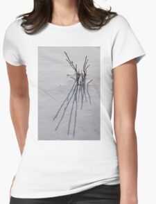 Snow Graphics Womens Fitted T-Shirt