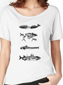 Fish Pattern Women's Relaxed Fit T-Shirt
