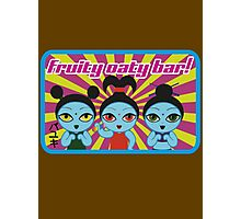 Fruity Oaty Bar! Shirt 2 (Firefly/Serenity) Photographic Print