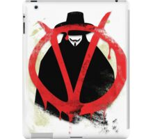 Pop Grunge: V iPad Case/Skin