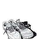 My Sneakers by James Lewis Hamilton