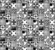 Black and White Squares by Matthew Andrews