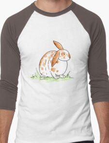 Hoppy Flopsy Bunny Men's Baseball ¾ T-Shirt