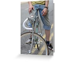 Single Speed Greeting Card