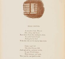 Rhymes for the Young Folk William and Hellen Allingham art Kate Greenaway 0030 Dreaming by wetdryvac