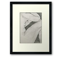 compression Framed Print