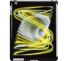 Twisted 1 Yellow iPad Case/Skin