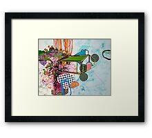 untitled 2 (or: brave new world ) Framed Print