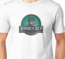Beware of rex Green Version Unisex T-Shirt