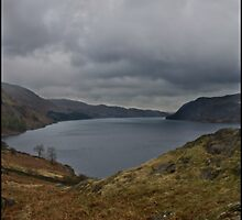 Haweswater, Cumbria, Lake District, UK. by Michael Upshon