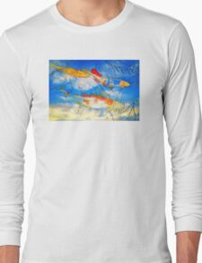 Life Is But A Dream - Koi Fish Art T-Shirt