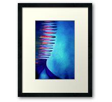 Blue Box Blues Framed Print