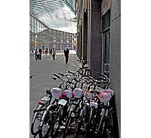 Walk Or Ride A Bike  Photographic Print
