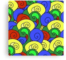 Wave pattern Canvas Print