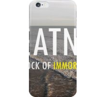 Greatness Is The Bedrock of  Immortal Success iPhone Case/Skin
