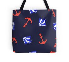 Summer marine pattern  Tote Bag