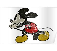 Retro Rockin Mouse T Shirts, Stickers and Other Gifts Poster