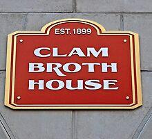 In Memory of The Original Clam Broth House Hoboken NJ by pmarella