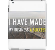 My Business Success iPad Case/Skin