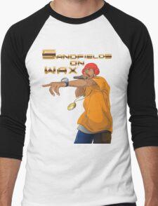Sandfields on Wax Rapper T-Shirt Men's Baseball ¾ T-Shirt