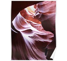 Purple Hues of Antelope Canyon Poster