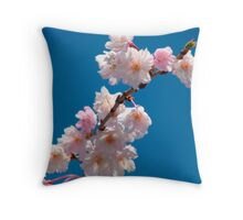 Blooms and Blossoms Throw Pillow