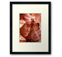 Sandstone Wonder Framed Print