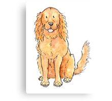 Winnie the cocker spaniel Canvas Print