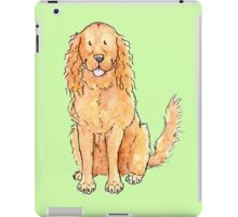 Winnie the cocker spaniel iPad Case/Skin