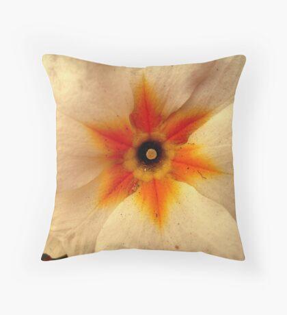 Small white Flower Throw Pillow