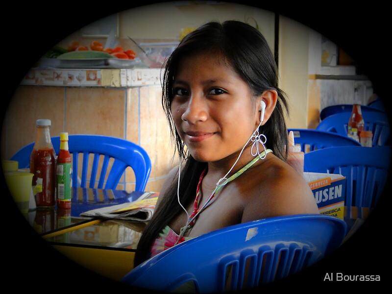 Salinas, Ecuador Teen Greeting Cards by Al Bourassa