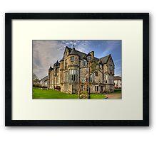 Craigflower House Framed Print
