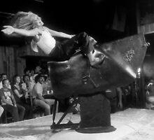 Bull ride by Larry  Grayam
