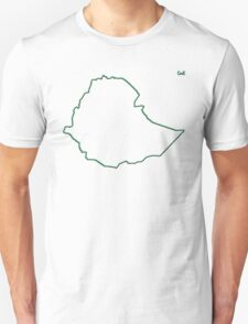 """Ethiopia """"Citizen of the Earth"""" large T-Shirt"""