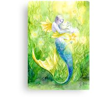 Sea Kelp & Starfish Canvas Print