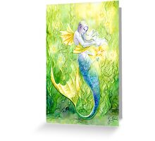 Sea Kelp & Starfish Greeting Card