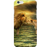Lion Lovers iPhone Case/Skin