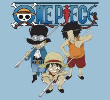 Sabo, Luffy, and Ace by mangamonster
