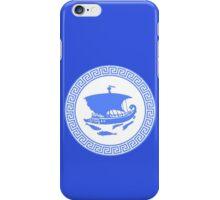 Greek key design geek funny nerd iPhone Case/Skin