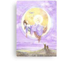 Silence and Blessed Sleep Canvas Print